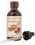 oral remedy with Echinaceal, Tea Tree oil, Cayenne, Peppermint oil + more