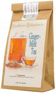 Ginger Mint Tea with Yarrow