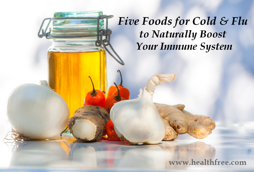 Five Foods For Cold And Flu To Boost Your Immune System