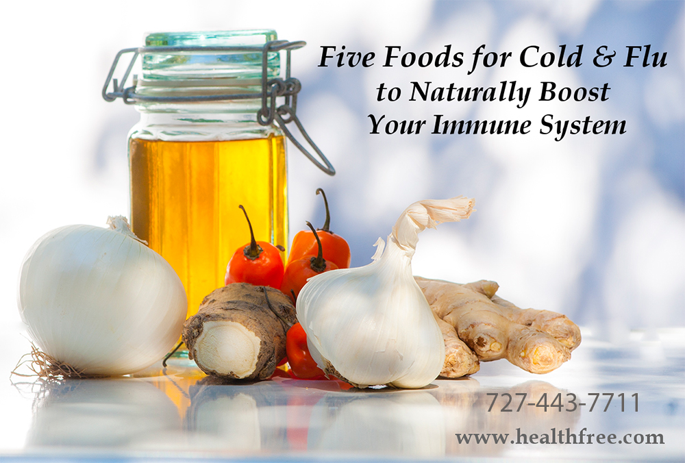 Five Foods for Cold & Flu