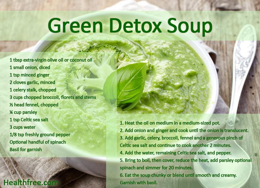 green detox soup recipe