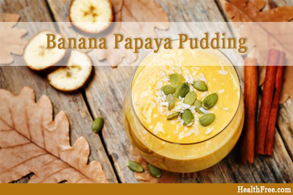 banana papaya pudding