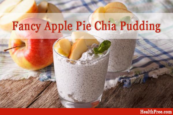 fancy apple pie chia pudding