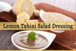 lemon tahini salad dressing