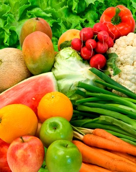 Picture of Raw Health Foods - Fruits & Vegetables