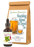 Nourishing Adrenal / Thyroid Tea & Tonic
