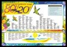 80% - 20% Alkaline-Acid Diet Chart