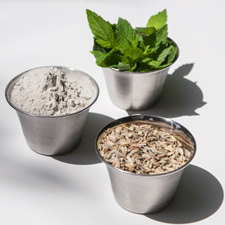 intestinal cleanse 2 - bentonite clay, fennel seed, peppermint leaf