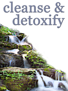 Cleanse & detoxify to leave your body as pure as a natural waterfall