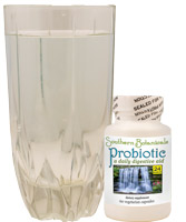water and probiotics