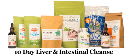 Liver & Intestinal 10 Day Cleanse Kit