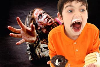 zombie woman hyper kid-blood sugar swings