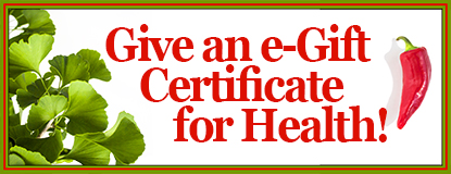 Holiday eGift Certificate