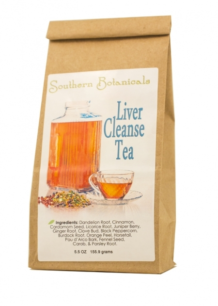 Liver Cleanse Tea Organic Herbal Remedy To Clean And
